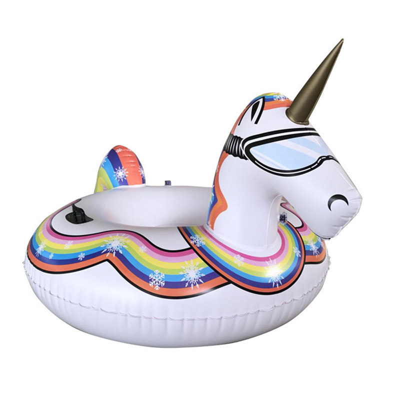 75 inch 1.9M Giant Swan Inflatable Flamingo Ride-On Pool Toy Float Inflatable Sw