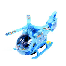 New Universal Electric Vehicle Helicopter Model Toy Vehicles Electronic Car With 3D Light&Music Gift for Kids Helicopter(China)