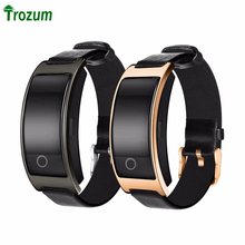 TROZUM Bluetooth Bracelet CK11s Bracelet Band blood pressure Heart Rate Monitor Pedometer Fitness TrackerFor IOS Android Phone