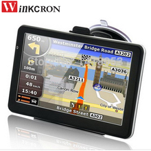 "Winkcron Best 7"" Car GPS Navigation built in 4GB Free Map Upgrade Russia/Belarus/Spain/ Europe/USA+Canada/Israel navigator(China)"