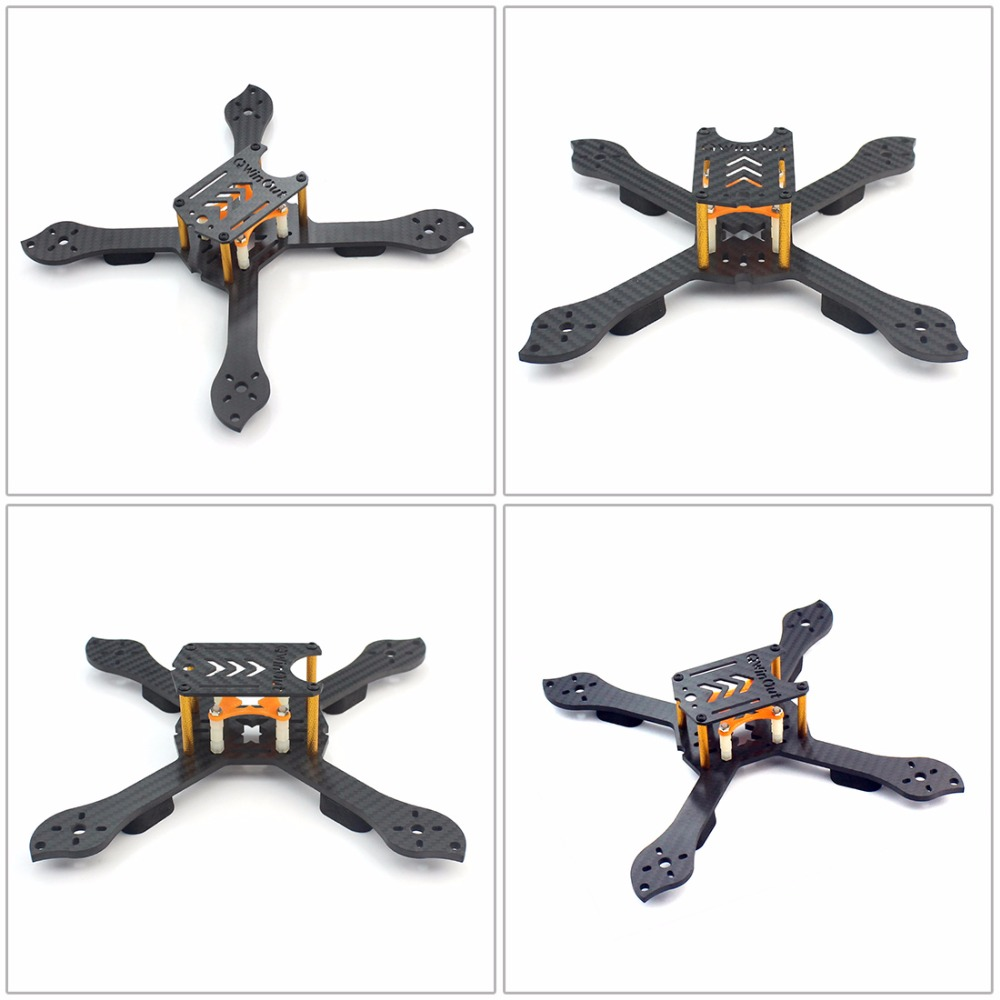DIY Accessory Kit 210mm X Shape Frame RS2306 2400KV Brushless Motor 30A ESC 2S-4S with PDB for FPV RC Racing Dshot Drone Kits