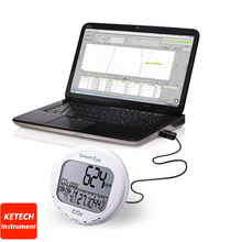 Desktop Indoor CO2 Carbon Dioxide Temperature Relative Humidity Logger AZ7798(China)