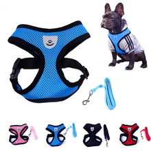 Cute Small Nylon Dog Harness Cat Pet Harness set Chihuahua Bichon Pet dog Accessories Dog Lead Pet Shop Supplies Pet Dog Collars