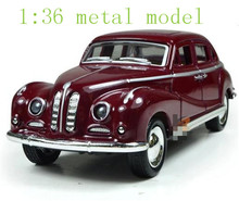 HOT sale 2014 kid present classic car model pull back alloy model children electric toys light sound 1:36 model