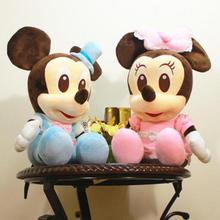 Big 50cm/60cm New Lovely Mickey Mouse and Minnie Mouse Plush Toys Stuffed Cartoon Figure Dolls Kids Christmas Birthday gifts