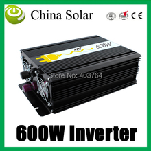 600W solar Inverter for AV 220V and 110V Inverters & Converters power supplier