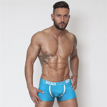 Buy 2018 Cotton Sexy Man Underwear Boxer Plus Size Male Boxer Underpants Fashion Design Brand Men's Breathable Panties Shorts Boxer