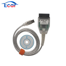 MINI VCI for TOYOTA Single Auto Diangnostic Cable V10.30.029 Support for Lexus/ Toyota TIS OEM Diagnostic Software Free Shipping