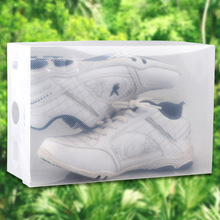 High quality thick transparent plastic clamshell plastic shoebox SN1266