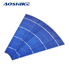 Aoshike Solars Panel 50pcs 156x26mm Solar Panel polycrystalline Silicon Flexible Solar Cell DIY China Panneau Solaire 0.7W 0.5V(China)