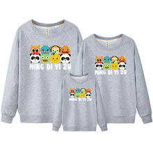 Mother & Kids Family Clothing Father and Son Clothes Korean Clothes Shop Mother Daughter Outfits Family Outfit Sweatshirt DC318