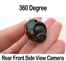 Mini Car Parking Camera Car 360 Degree Rear View Camera Mount Front/ Side/Rear Reverse View Car Vehicle CCD Camera Universal(China)