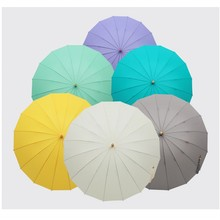 New High quality Japanese Woman Umbrella 10 Colors Creative bamboo handle Parasol Cute Fresh  Umbrella Child Long/Rain Umbrella
