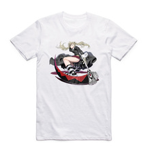 Asian Size Printing Japanese Anime Soul Eater T-shirt Summer Casual O-Neck Short Sleeves T-shirt HCP4211(China)