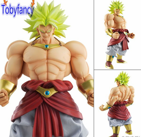 Dragon Ball Z Action Figures Broly DOD 250mm Figurine Dragon Ball Esferas Del Dragon Figuarts Dragonball Broly Tobyfancy<br>