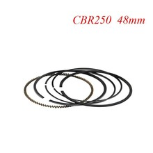 LOPOR Motorcycle Parts Piston Rings Set For Honda CBR250 CBR 250 KY1 MC19 (STD) Standard Bore Size 48mm NEW(China)
