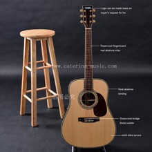 Handmade acoustic guitars,custom guitar, Dreadnought size, free shipping