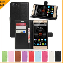 Buy Elephone M2 Case Luxury PU Leather Back Case Cover Elephone M2 Case Flip Protective Phone Bag Skin Card Holder for $3.25 in AliExpress store
