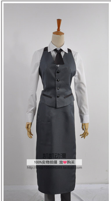 Hot Anime Tokyo Ghoul Ken Kaneki Work Uniform Halloween cosplay Costumes