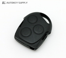 For Ford Mondeo Fiesta Puma Focus Remote Key Fob Case 3 Buttons remote key fob Promotional products
