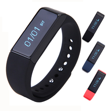 I5 Plus Smart Bracelet Bluetooth 4.0 IP67 Watch Wristband Sleep Monitoring Sports Tracking Remote Camera smartwatch band Android