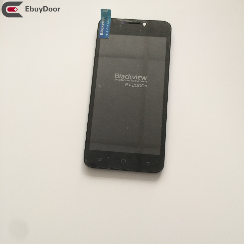 Used  LCD Display Screen + Touch Screen + Frame For Blackview BV2000S Phone Free shipping+Tracking<br>