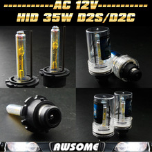 Pair 35W D2/D2S/D2C 6000K Xenon HID Headlight Replacement Bulb D2/D2S/D2C Car Headlight Fog Lamp CE Productions