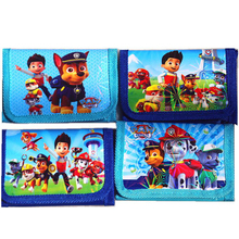 Kids Cartoon Patrol Dog Wallet Children Zip Printed Change Purse Mini Coin Purse Money Bag Pouch Bolsa Girl For Gift(China)