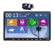AMP Autoradio Video Touchscreen GPS Stereo Auto Radio Audio Accessory Car DVD Player System Steering Wheel Head Unit