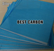 Free shipping 400mm x 500mm Sliver color Carbon Fiber Plate, cf plate , carbon sheet ,carbon panel