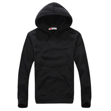 New Fashion Men's Hooded Sweatshirt Fleece Autumn Winter Hoodies Clothes Mens Long Sleeve Pockets Pullover Hooded Tops