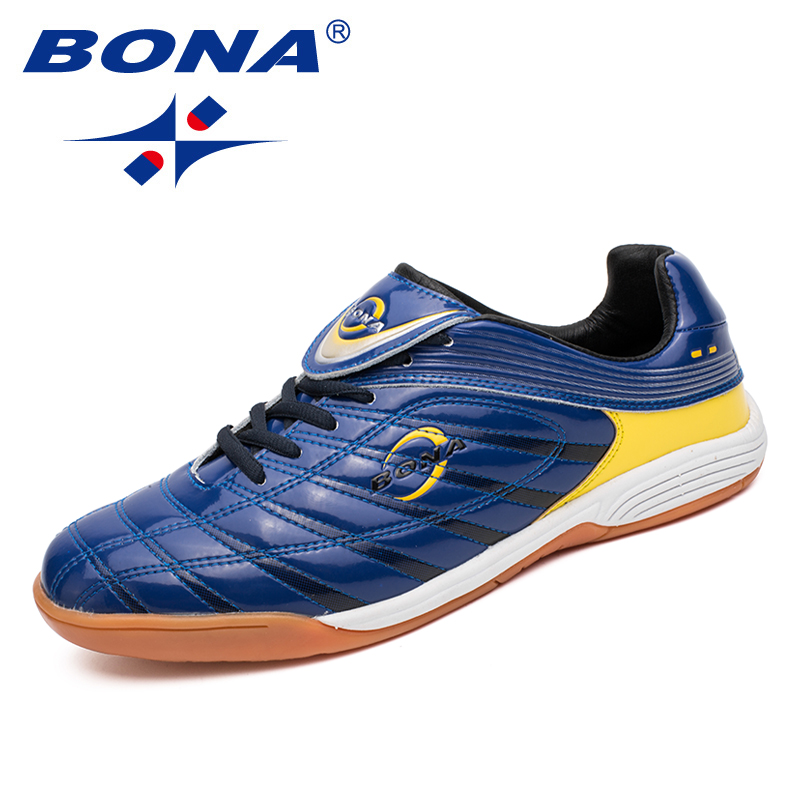 BONA New Classics Style Men Soccer Shoes Lace Up Men Professional Trainer Footfall Shoes Outdoor Jogging Sneakers Free Shipping<br>