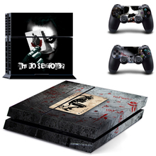 New Arrive Six Styles Vinyl Decal PS4 Skin Stickers Wrap for Sony PlayStation 4 Console and 2 Controllers Decorative Skins