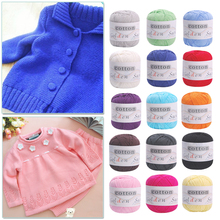 Hot 1 Ball X 50g Special Thick 100% Cotton HAND Knitting Yarn Hand - knit cotton line baby cotton yarns Sweaters Hat Shoes F15