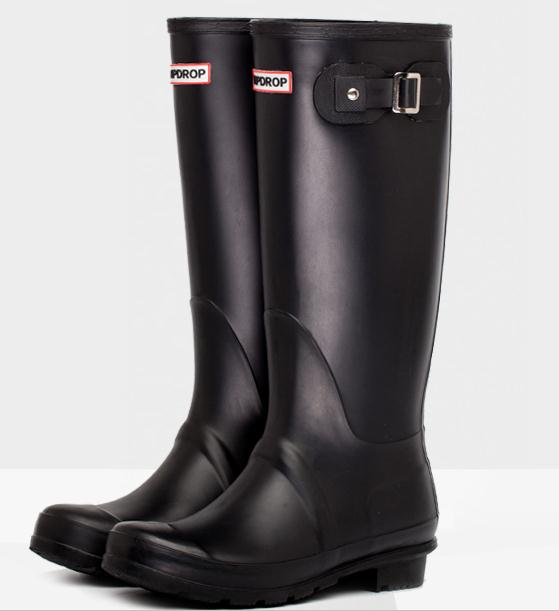 Fashion classic dripdrop gaotong waterproof rainboots womens correlations overstrung female water shoes rain shoes rain boots<br><br>Aliexpress