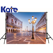 kate Photographic background Square of ground lights digital Can be washedbackdrops newborn kids 8 x 8 ft(China)