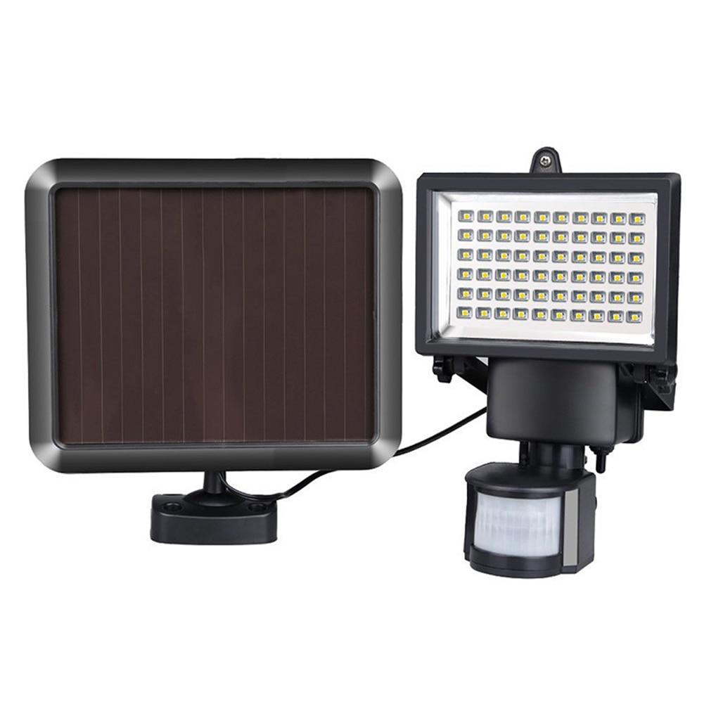 60 LED Solar Power Street Light PIR Motion Sensor Light Garden Security Lamp Outdoor Street Waterproof Wall Lights<br>