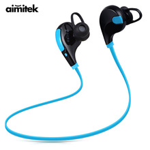 Buy Bluetooth Earphones Wireless Stereo Earbuds Sports Running Headsets Headphones Hands-free Mic iPhone Android VS QY7 for $7.99 in AliExpress store