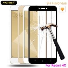 Screen Protective Tempered Glass Xiaomi Redmi 4X Xiaomi Redmi Note 5A 5 Plus Full Cover Protector Redmi 4X 5 5A Film