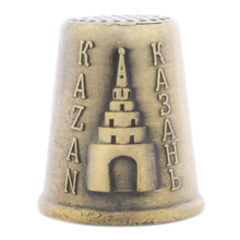Russia home decoration Metal Sewing Finger Thimbles. Elegant mother gifts.Fill the pants. kazan Thimbles Souvenir size 2.2*2.5CM