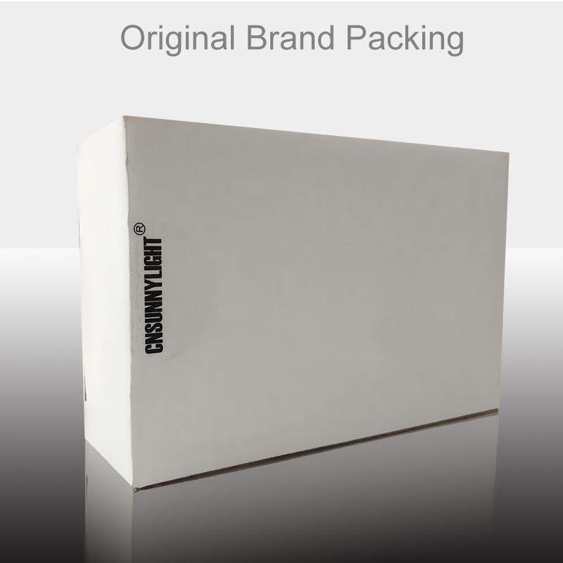 white box brand packing box