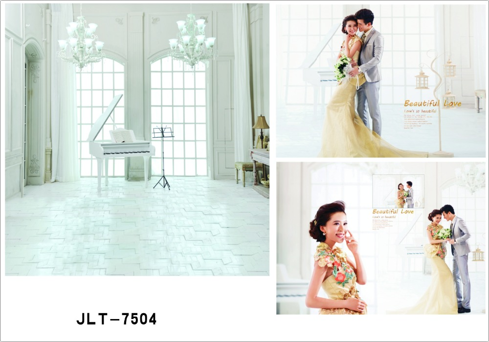 Pure White Curtain Palace Wedding Photography Backdrops Digital Printed Photographic Background for Photo Studio Fotography<br><br>Aliexpress