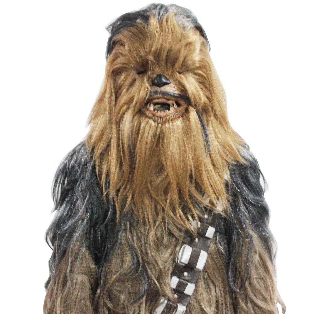 Star Wars Costumes 7 Series Cosplay Chewbacca Halloween Suit Costume Halloween Party Prop (2)