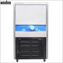Xeoleo Small Type Commercial  Ice Maker 16-20kg/24h High Quality Ice Machine 220V Ice Make Machine for Bubble Tea Shop/Catering