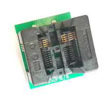 TSSOP8 to DIP8 AdapterTL866A TL866CS programmer adapter TSSOP8 to DIP8 IC Test Socket adapter 0.65mm Pitch(China)