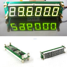 0.1 MHz~65MHz RF 6 Digit Led Signal Frequency Counter Cymometer Tester meter YELLOW FOR ham radio Amplifier