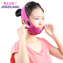 Health Care Jaw Pulling Facial Masseter Thin Face Mask Women Wrinkle V Face Chin Cheek Lift Up Ultra-thin Slim Belt(China)