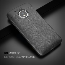 Shockproof Cover for Moto G5 Case Silicone for Moto G5 Case Soft Fiber Carbon Silicone Cases Motorola G5 Case Armor Cover Coque(China)