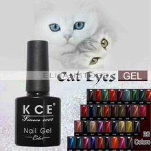 Optional 3D Temperature Change Cat Eye Gold Nail Polish UV Gel Nail Polish Magnetic Gel Paint Long-Lasting Color