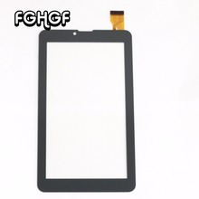 "FGHGF film+ Touch Screen For 7"" Chuwi Vi7 3G Chuwi Vi7 Tablet PC Touch Panel Digitizer Sensor Glass Replacement Free shipping(China)"